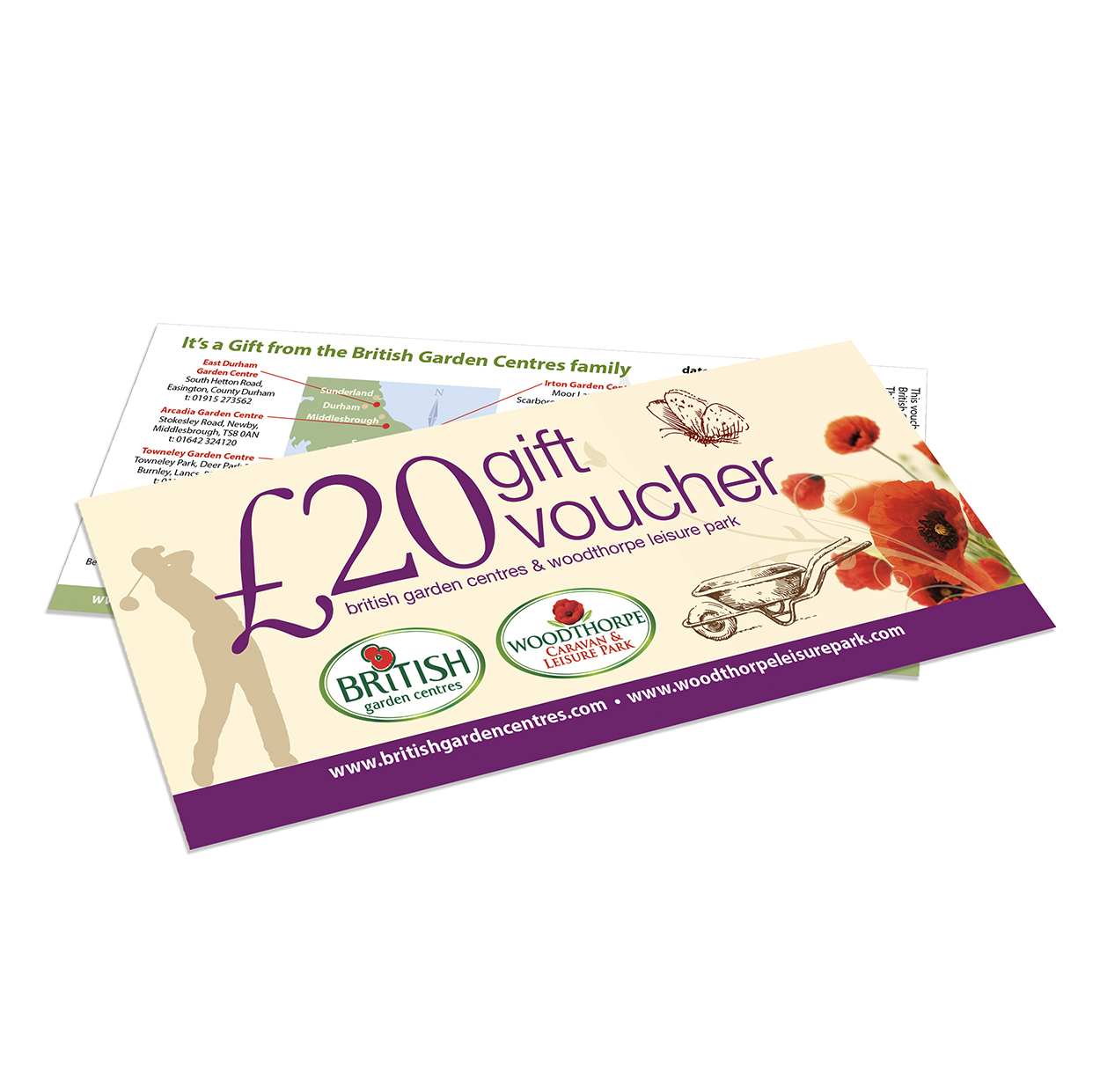 20 gift voucher british garden centres for Gardening gift vouchers